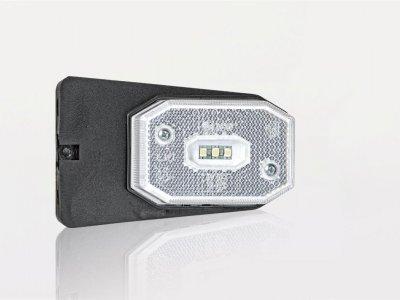 LAMPA OBRYSOWA BIAŁA Z UCHWYTEM FRISTOM FT-001BI LED