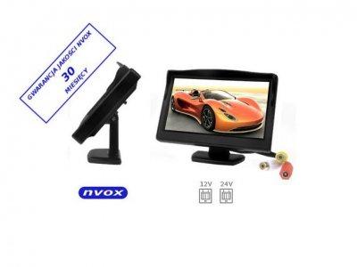 MONITOR LCD NVOX 5 CALI 12V 24V