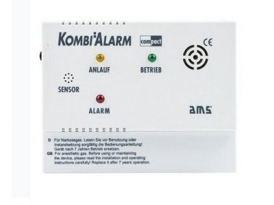ALARM GAZOWY AMS KOMBI ALARM COMPACT