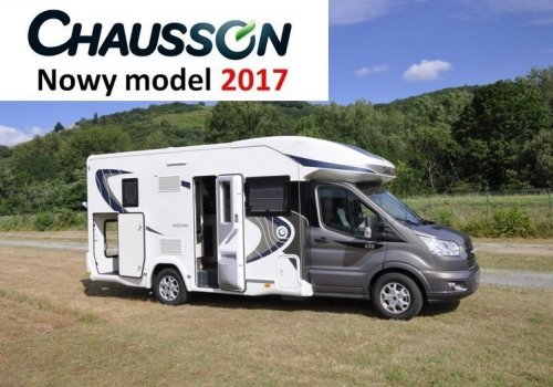 KAMPER CHAUSSON WELCOME 630 TRANSIT 170KM NOWY!