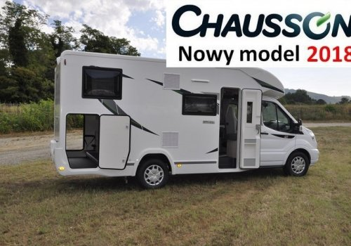 KAMPER CHAUSSON 627GA SPECIAL EDITION TRANSIT 170KM NOWY!