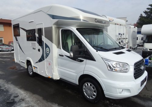 KAMPER CHAUSSON 634 FLASH TRANSIT NOWY! MODEL 2019