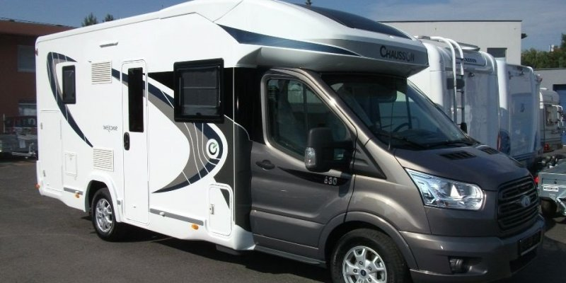 KAMPER CHAUSSON 630 WELCOME TRANSIT 170KM NOWY!