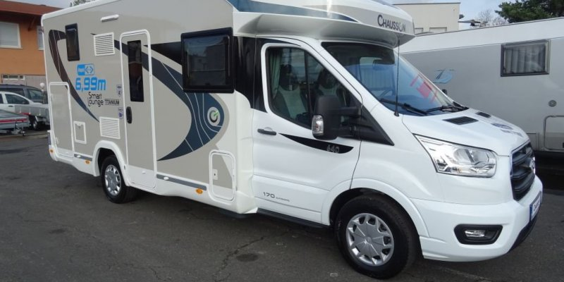 KAMPER CHAUSSON 640 TITANIUM TRANSIT 170KM AUTOMAT NOWY! MODEL 2020