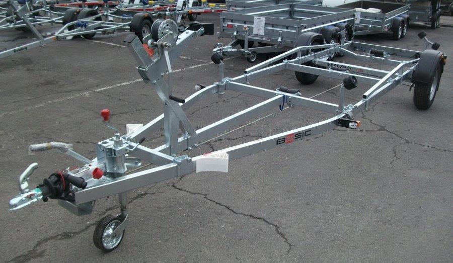 Przyczepa podłodziowa Brenderup Basic 1300KG 6M