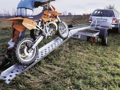 NAJAZD RAMPA POSTOJOWA BRENDERUP MOTOCYKL 200CM