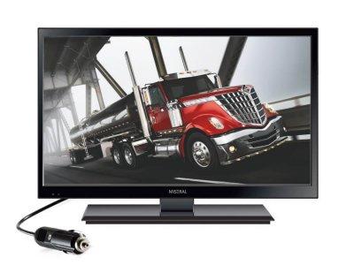 TELEWIZOR LED MISTRAL 15,6 CALA 12V TUNER DVB-T