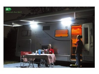 LAMPA ZEWNĘTRZNA FIAMMA 12V LED POD MARKIZĘ