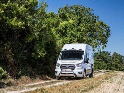 KAMPER RANDGER R560 4X4 TRANSIT 170KM NOWY! MODEL 2021! DIFFUSED SILVER