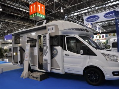 KAMPER CHAUSSON 644 TITANIUM PREMIUM TRANSIT 170KM AUTOMAT NOWY! MODEL 2022