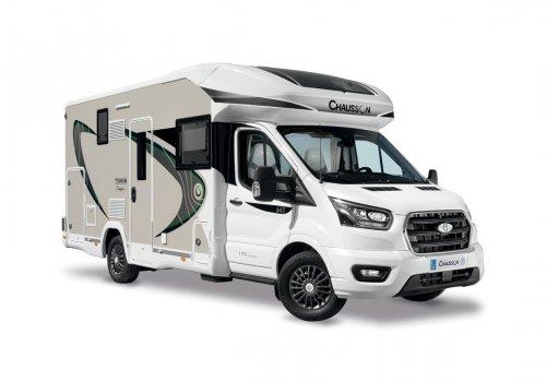 KAMPER CHAUSSON 630 TITANIUM PREMIUM TRANSIT 170KM AUTOMAT NOWY! MODEL 2021