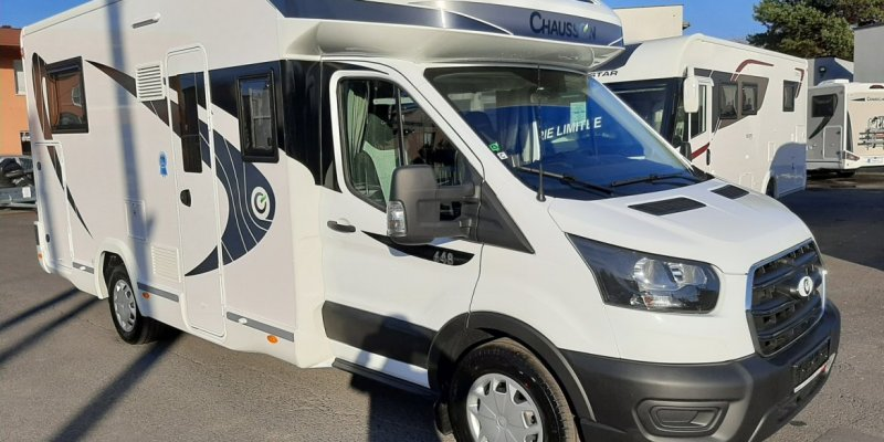 KAMPER CHAUSSON 648 FIRST LINE TRANSIT 170KM NOWY! MODEL 2021