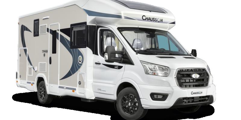 KAMPER CHAUSSON 640 TITANIUM VIP TRANSIT 170KM AUTOMAT NOWY! LIMITOWANA EDYCJA